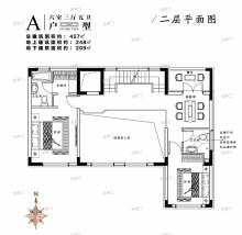 别墅A户型二层