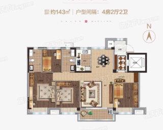 (双山)玖珑府4室2厅2卫